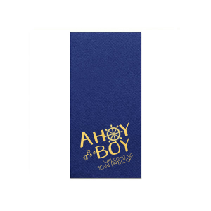 Ahoy It's A Boy Napkin