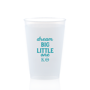 Our personalized Matte Teal/Peacock Ink 9 oz Frost Flex Cup with Matte Teal/Peacock Ink Cup Ink Colors will make your guests swoon. Personalize your party's theme today.