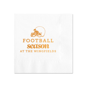 Football Season Napkin