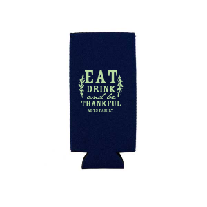 Eat Drink And Be Thankful Can Cooler