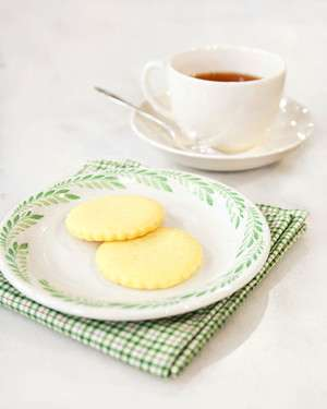 Irish butter shortbread via Martha Stewart