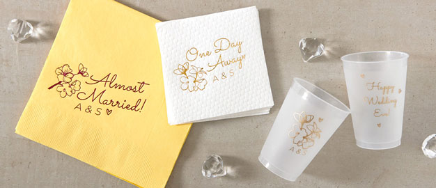 personalized wedding supplies