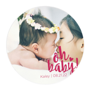 Our beautiful custom White Photo/Full Color Square Coaster with Matte Lipstick Red Ink Digital Print Colors can't be beat. Showcase your style in every detail of your party's theme!