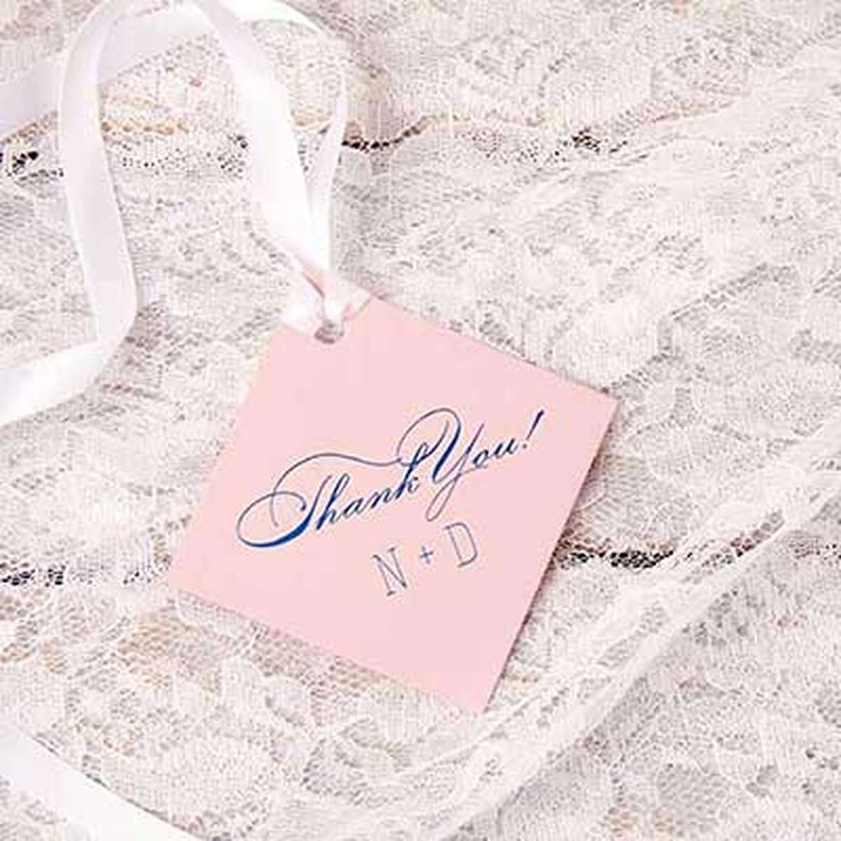 custom diamond gift tag