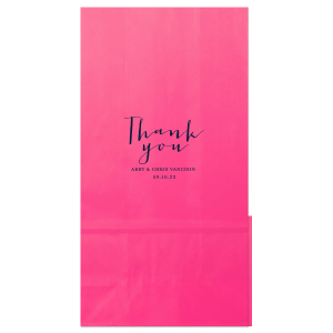 Simple Thank You Bag