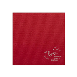 Our personalized Lemon Cocktail Napkin with Shiny Amethyst Foil Color has a Hola graphic and is good for use in Words themed parties and will add that special attention to detail that cannot be overlooked.