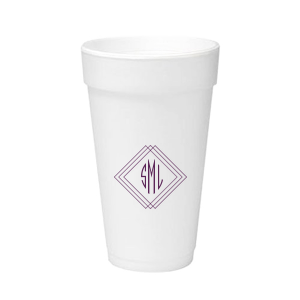 Angles Monogram Foam Cup