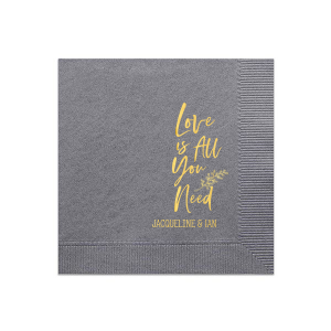Love Is All You Need Napkin