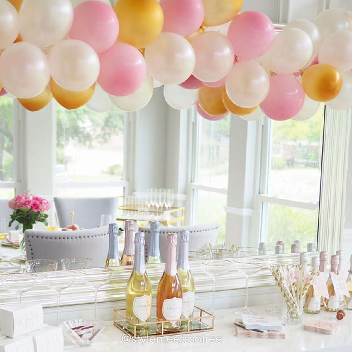 cute balloons for engagement and bachelorette parties