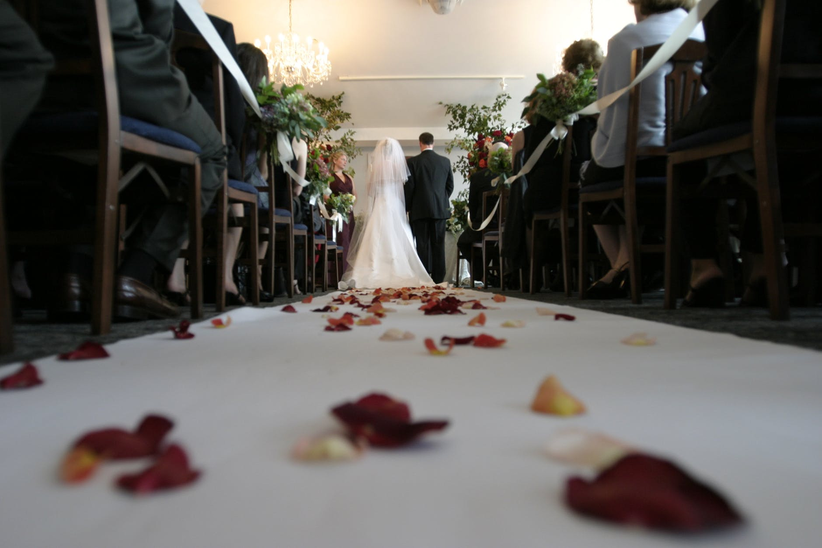 tips on prepping for your wedding day to walk down the aisle happy
