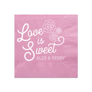 Our personalized Rose Petal Cocktail Napkin with Matte White Foil has a Romantic Roses Bunch graphic and is good for use in Wedding and Shower themed parties and will look fabulous with your unique touch. Your guests will agree!