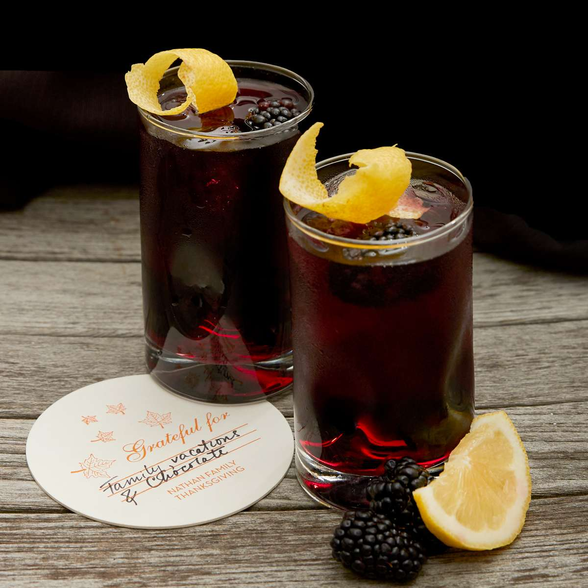 Blackberry cocktail recipe