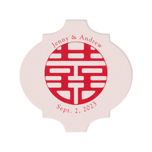 Double Happiness Coaster