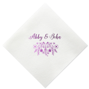 Our custom Ivory Cocktail Napkin with Shiny Champagne Foil has a Rose Pattern graphic and is good for use in Accents, Floral, Wedding themed parties and will look fabulous with your unique touch. Your guests will agree!