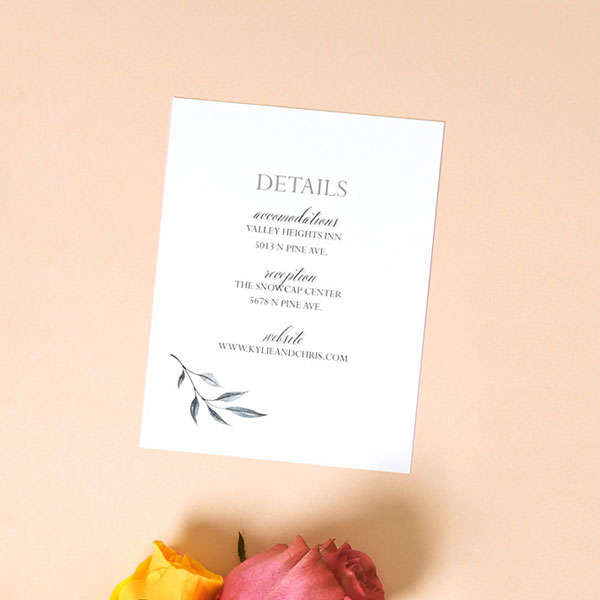 Full Color Details Cards