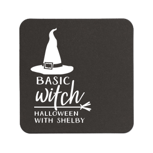 Basic Witch Coaster
