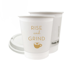 Rise And Grind Paper Cup
