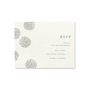 Backyard Romance RSVP Card