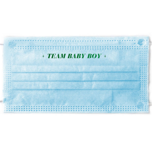 Baby Shower Mask Ideas