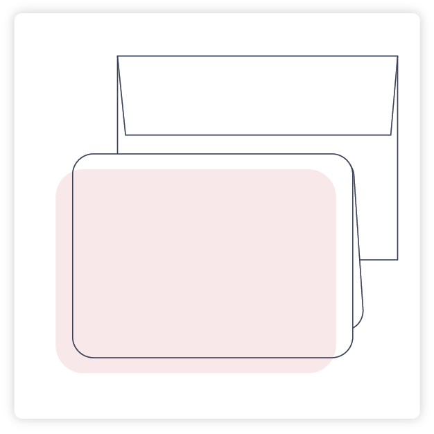 Customize Rounded Corner Note Card More