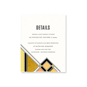 Geometric Deco Details Card