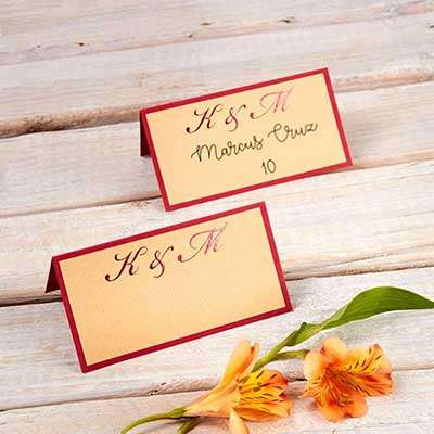 Classic Layered Place Card