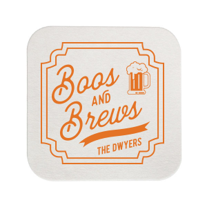 Boos and Brews Coaster