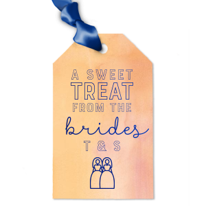 Sweet Treat Brides Gift Tag