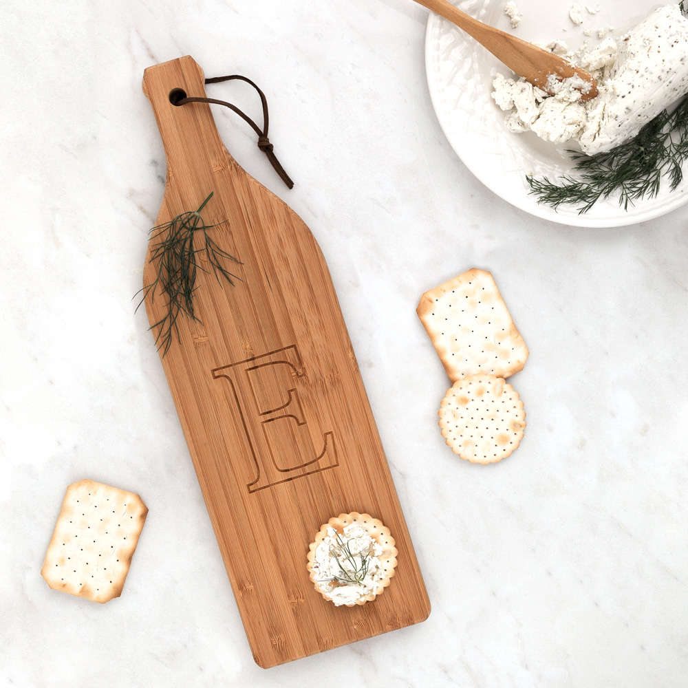 Small Wine Bottle Cutting Board