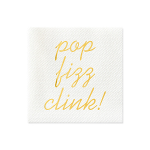 Pop Fizz Clink Napkin