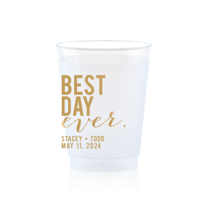 Best Day Block Frost Flex Cup