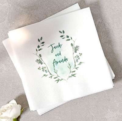 Photo/Full Color Luncheon Napkins