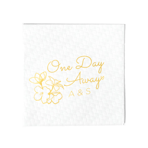 One Day Away Napkin