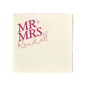 Bold Mr And Mrs Napkin