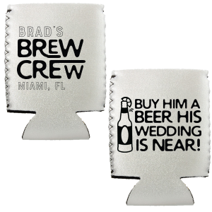 Bachelor Brew Crew Can Cooler