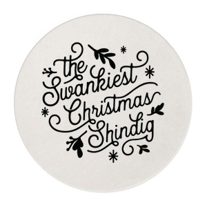 Swankiest Shindig Retail Round Coaster