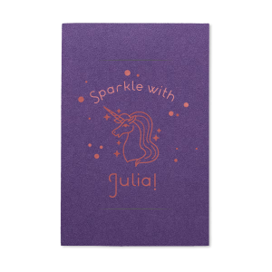 Unicorn Dots Birthday Sparkler Sleeve