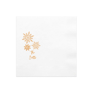 Winter Snowflake Napkin