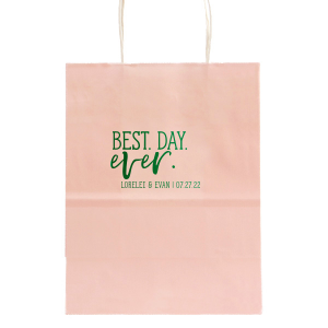 Best Day Ever Trendy Welcome Bag
