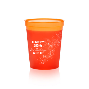 Mini 16 oz Colored Changing Cups-Set of 5