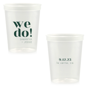 Bold We Do Names Stadium Cup