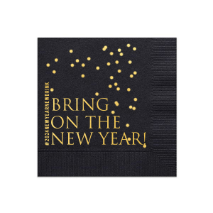 Bring On The New Year Napkin