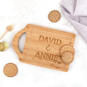 Stacked Names Cutting Board
