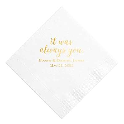 Cocktail Napkins Luxe for Less