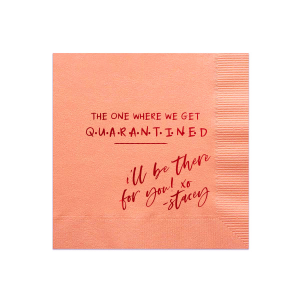 Quotes Cocktail Napkins Personalized Party Napkins For Your Party
