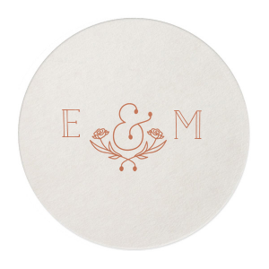Flower Ampersand Coaster
