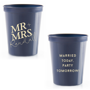 Married Party Mr and Mrs Stadium Cup