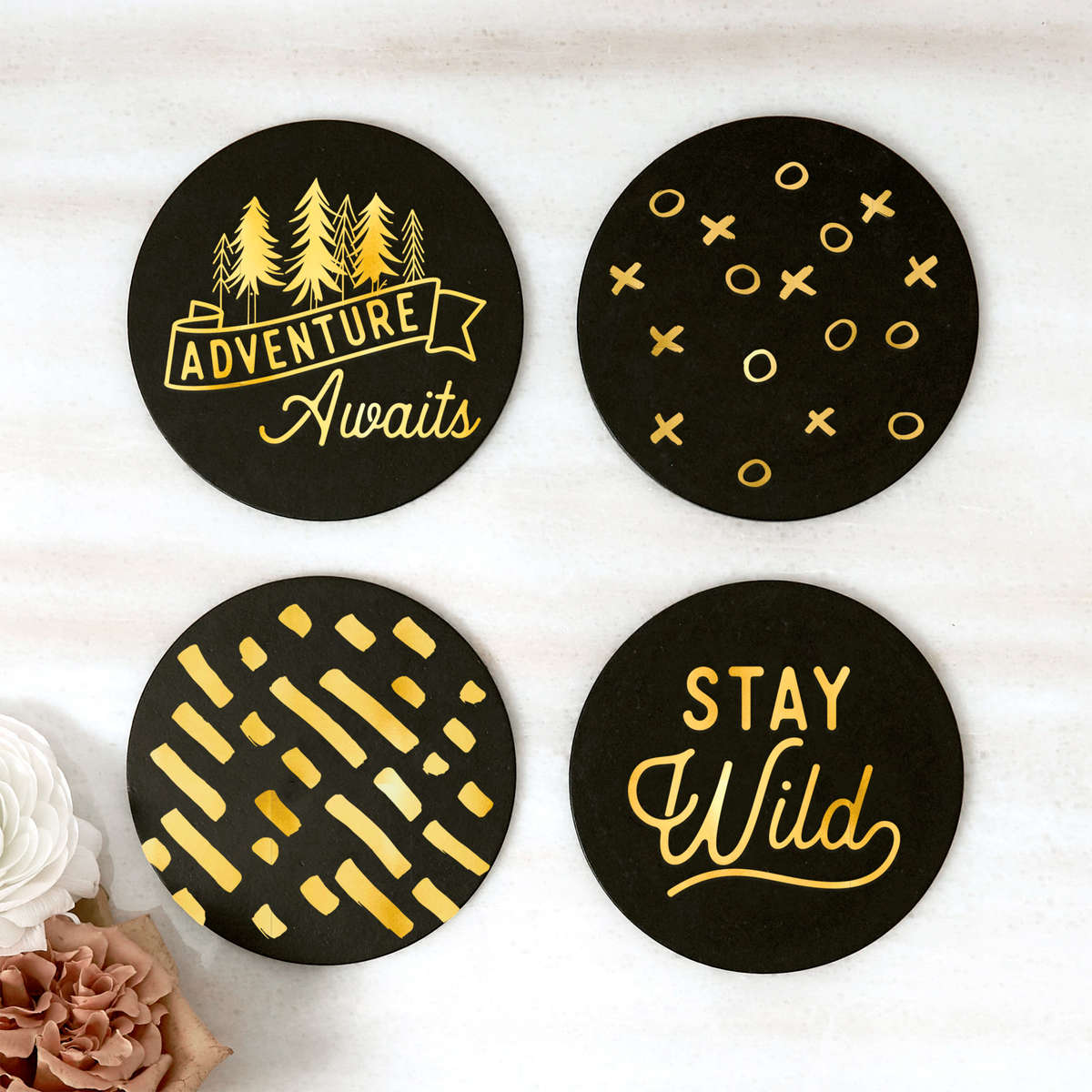 Party Ready Coaster Sets