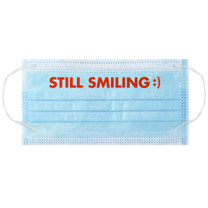 Still Smiling Face Masks