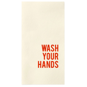 Wash Your Hands Towel